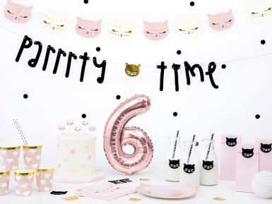 6 witte en roze katten verjaardagskaarsjes-2