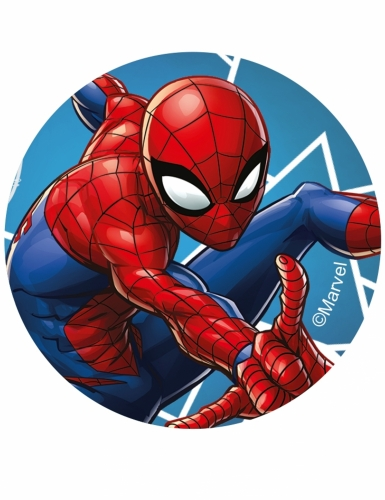 12 eetbare Spiderman™ koek decoraties-1