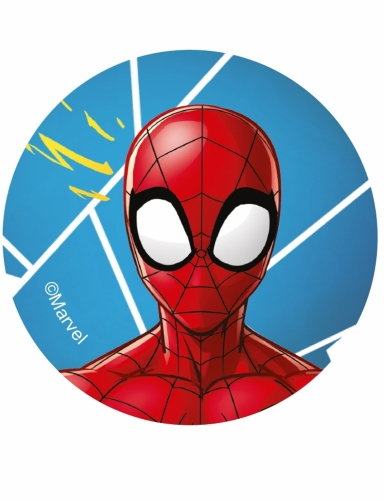 12 eetbare Spiderman™ koek decoraties-3