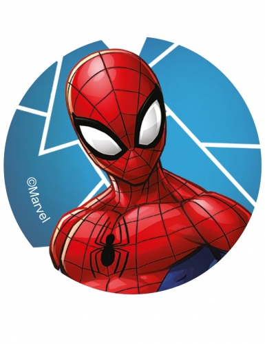 12 eetbare Spiderman™ koek decoraties-4