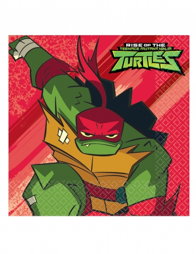 16 papieren Rise of the Ninja Turtles™ servetten