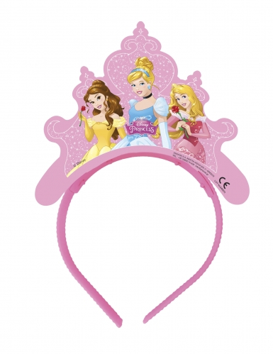 4 kartonnen Disney Dreaming Princesses™ tiara's