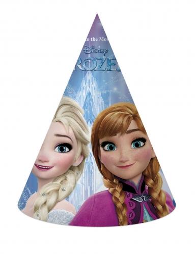 6 kartonnen Frozen™ feesthoedjes