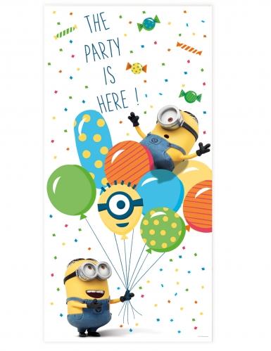 Minions balloon party™ deurdecoratie
