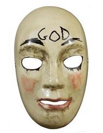 Luxe The Purge™ god masker voor volwassenen