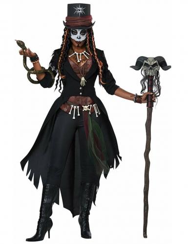 Voodoo magiër kostuum voor vrouwen