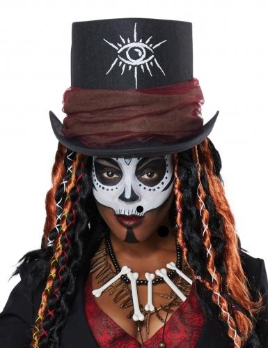 Voodoo magiër kostuum voor vrouwen-1
