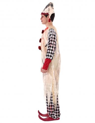 Bloederig harlekijn kostuum voor tieners-1
