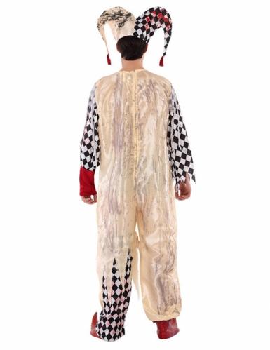 Bloederig harlekijn kostuum voor tieners-2