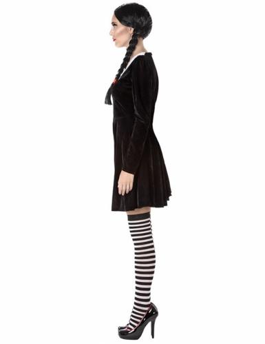 Duister schoolmeisje kostuum voor vrouwen-1