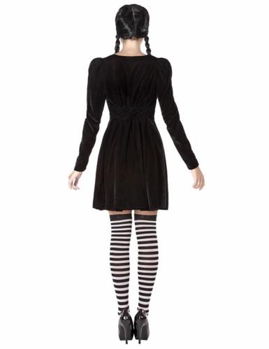 Duister schoolmeisje kostuum voor vrouwen-2