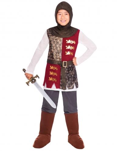 Heldhaftig ridder kostuum voor jongens