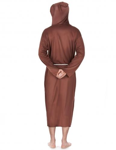 Bruin monnik kostuum voor mannen - Grote Maten-2