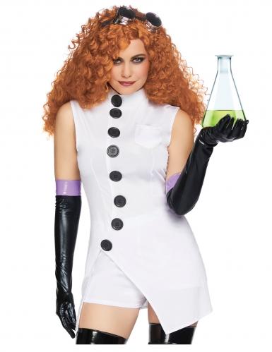 Sexy psycho onderzoeker kostuum voor vrouwen