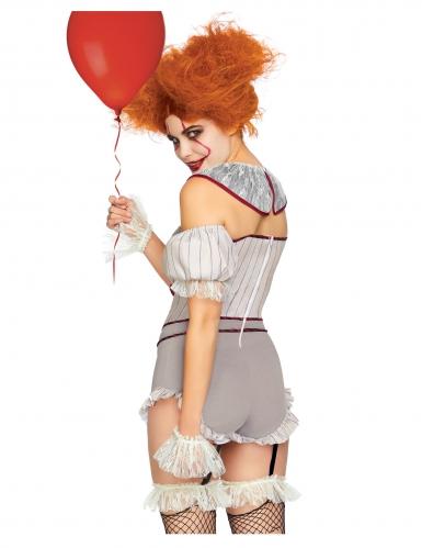 Luxe sexy killer clown kostuum voor vrouwen-1