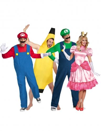 Mario™ en vrienden groepskostuum voor volwassenen