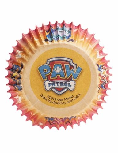 25 papieren Paw Patrol™ cupcakevormen-1