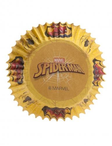 25 Spiderman™ papieren cupcake vormen-1
