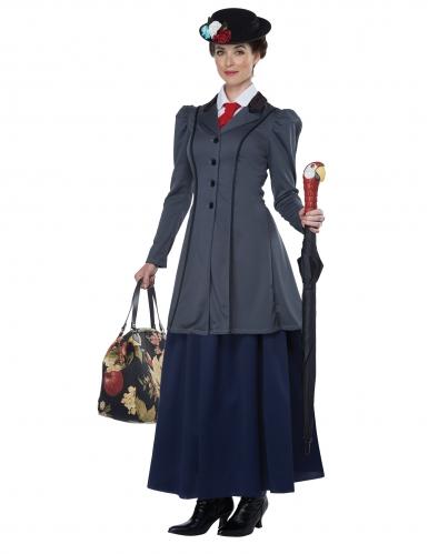 Engels kindermeisje kostuum voor dames-1