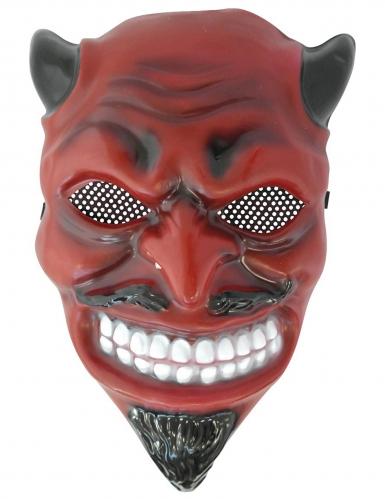 PVC duivel masker voor volwassenen