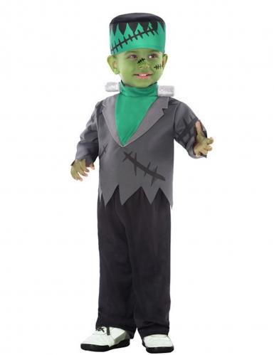 Groen experimenteel monster kostuum voor baby's