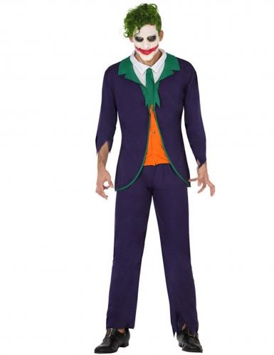 Psychopathische harlekijn kostuum voor mannen