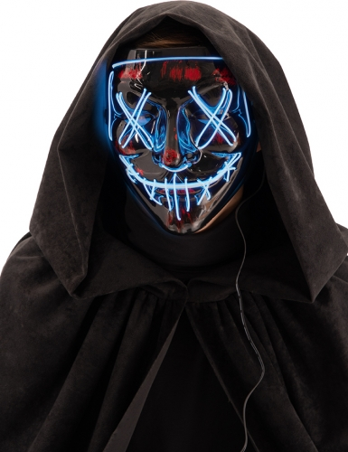 Horror nacht led masker voor volwassenen