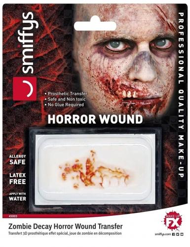 Zombie horror wond voor volwassenen