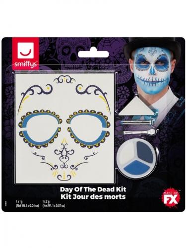 Dia de los Muertos FX schmink set voor volwassenen-1