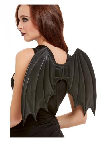 Zwarte gevoerde vleermuis vleugels voor volwassenen