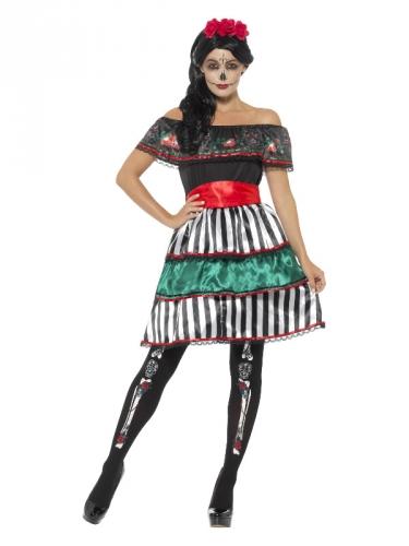 Dia de los Muertos Señora kostuum voor vrouwen