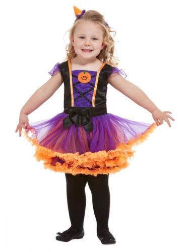 Pompoen tutu kostuum voor meisjes