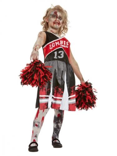 Paars zombie cheerleader kostuum voor meisjes-1