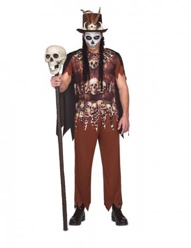 Voodoo kannibaal outfit voor mannen