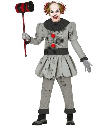 Psycho horror clown pak voor mannen