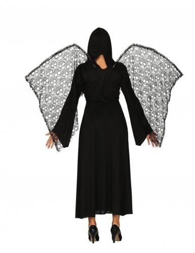 Dodenengel kostuum met vleugels voor vrouwen-1