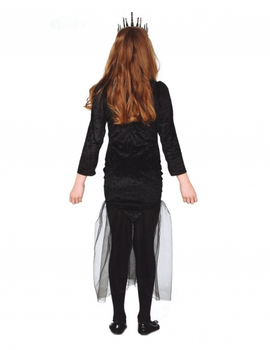 Zeemeermin skelet kostuum voor meisjes-1