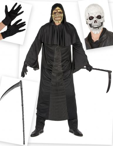 Reaper kostuum pack met accessoires voor mannen