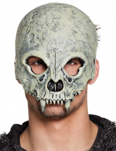 Monster doodskop half masker