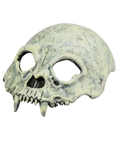 Monster doodskop half masker-1