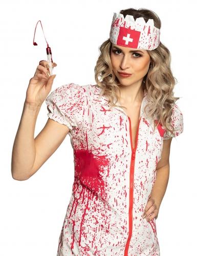 Horror verpleegster spuit en nepbloed set-1