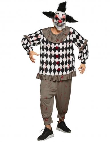 Sadistische clown outfit voor volwassenen