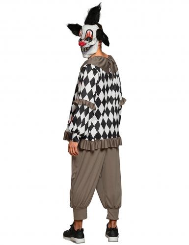 Sadistische clown outfit voor volwassenen-1