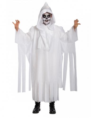 Wit spook skelet kostuum voor kinderen
