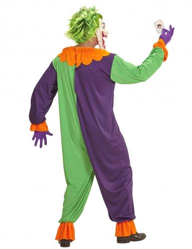 Psychopathische harlekijn outfit voor volwassenen-1