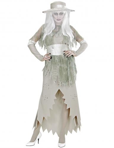 Wit spook dame kostuum voor vrouwen