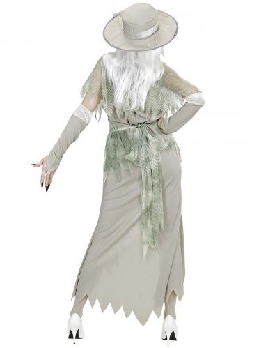 Wit spook dame kostuum voor vrouwen-3