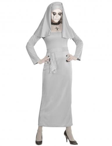 Horror zuster non kostuum voor vrouwen-1