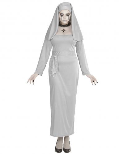 Horror zuster non kostuum voor vrouwen-2