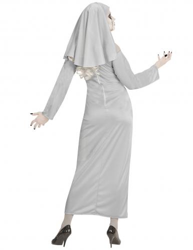 Horror zuster non kostuum voor vrouwen-3